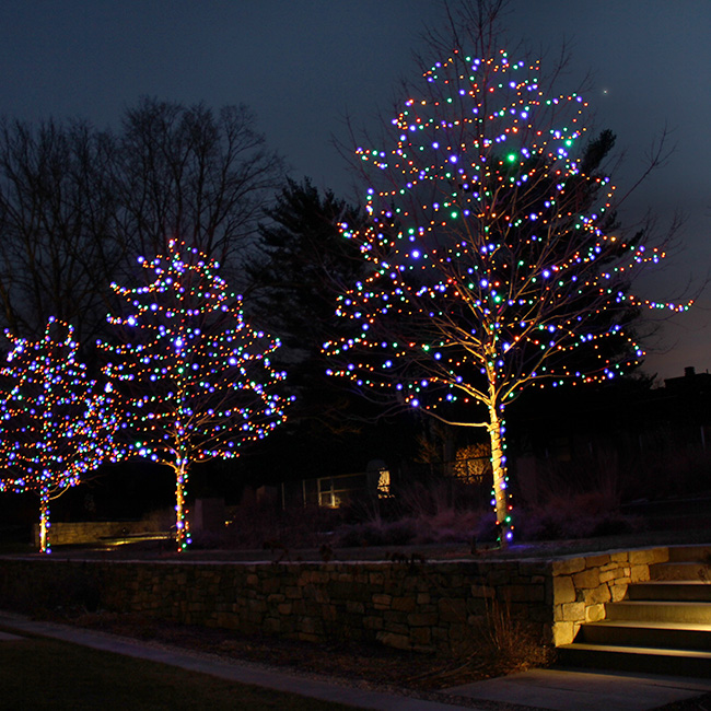 The LaurelRock Company provides year-round property enhancements such as Winter holiday décor.